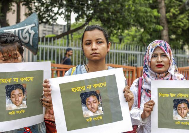 孟加拉國法院判處殺害一名女大學生的16人死刑