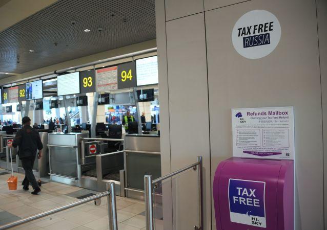 赴俄中國遊客退稅交易量高居首位