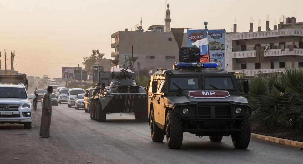 俄土兩軍對敘利亞戰略要道進行聯合視察
