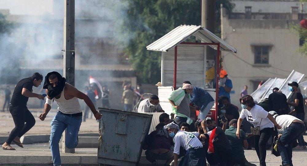 伊拉克的反政府抗議活動
