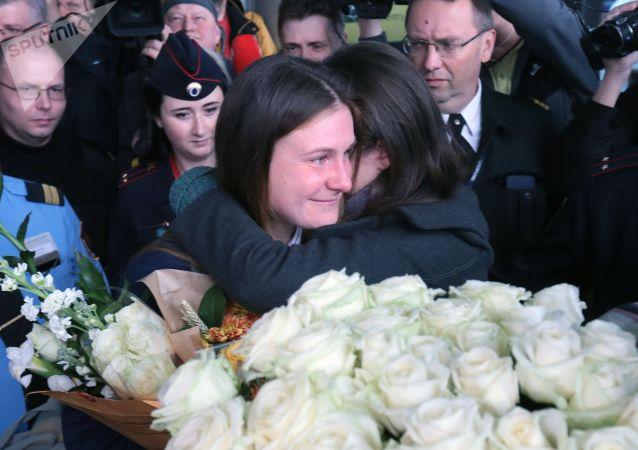 俄公民布京娜直到最後都不相信自己會在指定日子獲釋