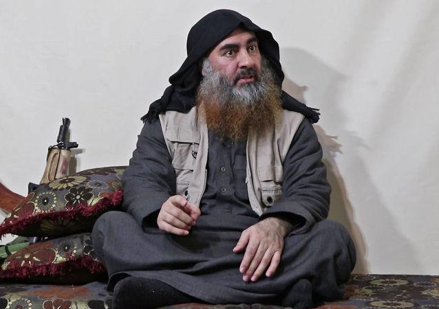 「伊斯蘭國」領導人阿布·巴克爾·巴格達迪