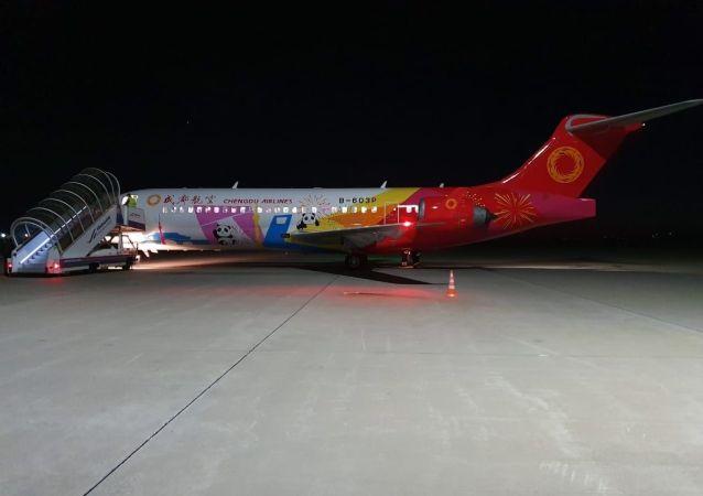 中國客機Comac ARJ21抵達俄濱海邊疆區 完成國際航班首航