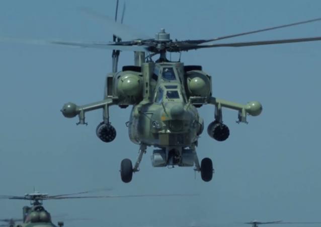 俄武裝力量慶祝陸軍航空兵日