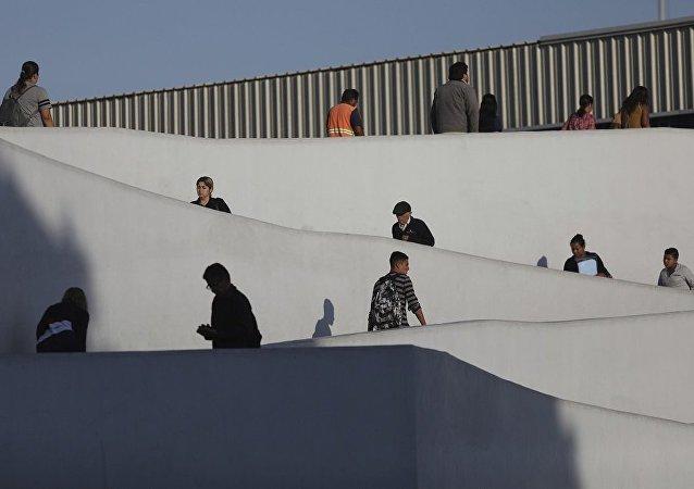 移民在美墨邊境
