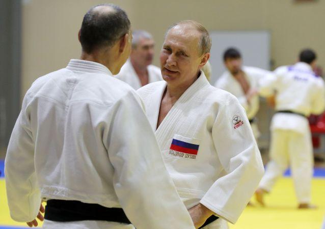 普京:俄羅斯對柔道及其歷史和哲學一直興趣濃厚