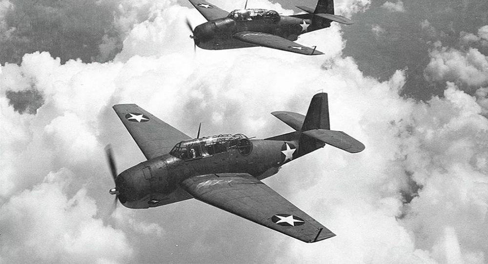 美國海軍5架魚雷轟炸機