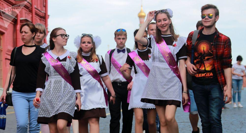 俄中小學生
