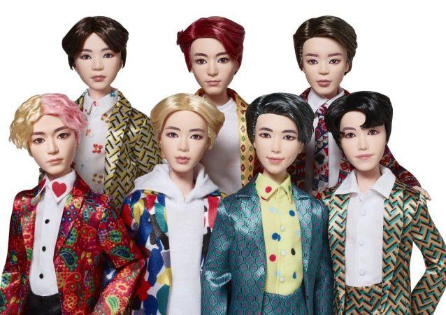 韓國歌手偶像的玩偶