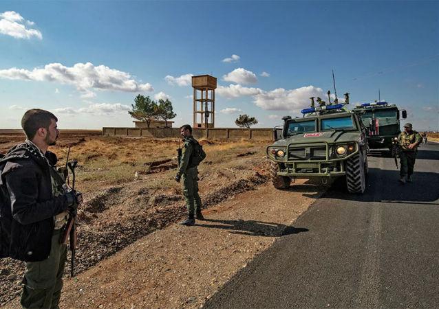 俄羅斯部隊在敘利亞