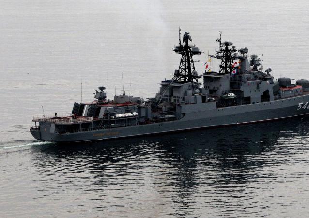「潘捷列耶夫海軍上將」號驅逐艦
