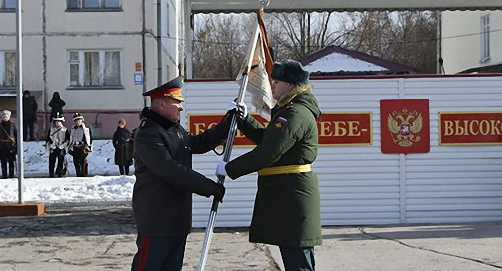 俄羅斯維和部隊被授予「亞歷山大」榮譽稱號