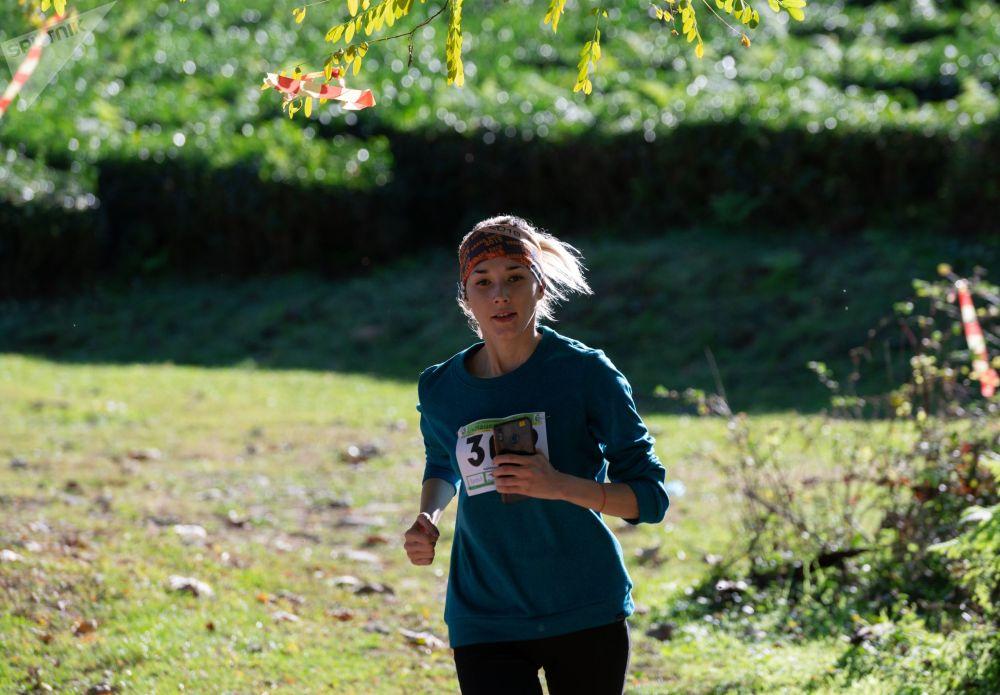 索契茶園中的跑步比賽