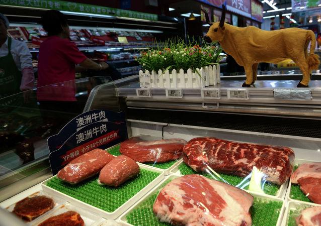 中國海關總署發佈公告 解除進口美國牛肉相關限制