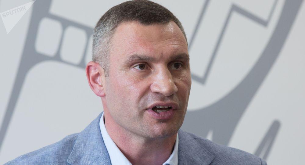 烏克蘭基輔市市長維塔利·克里奇科