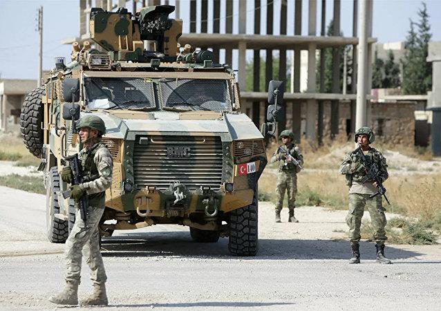 在敘利亞的土耳其軍隊