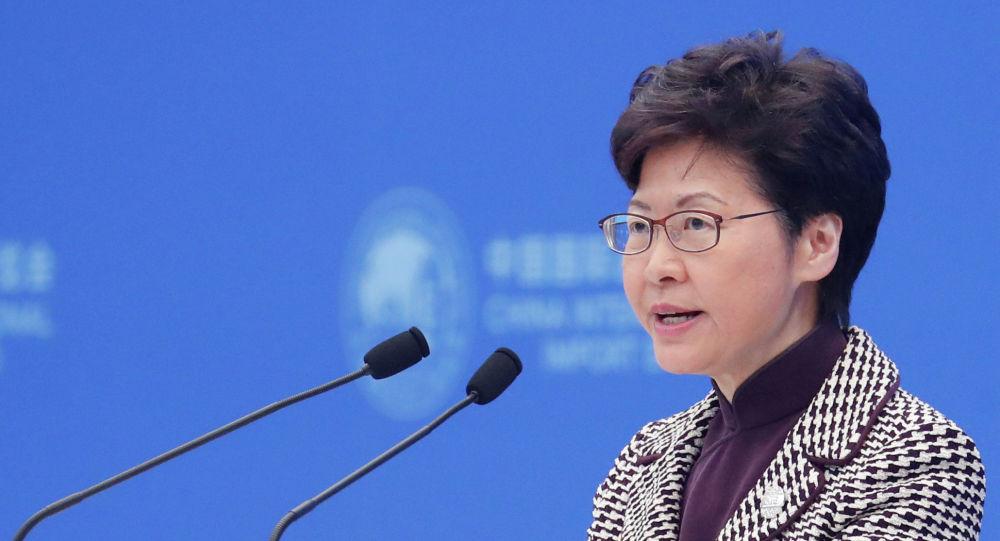林鄭月娥:週六赴京述職彙報過去一年香港情況