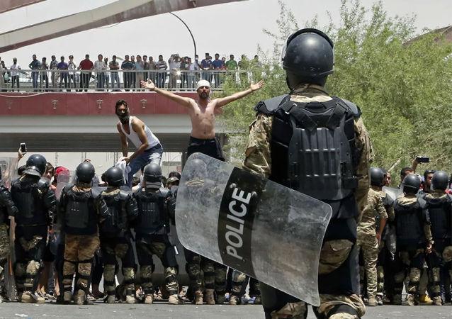 聯合國安理會呼籲伊拉克政府調查對示威者使用暴力的情況