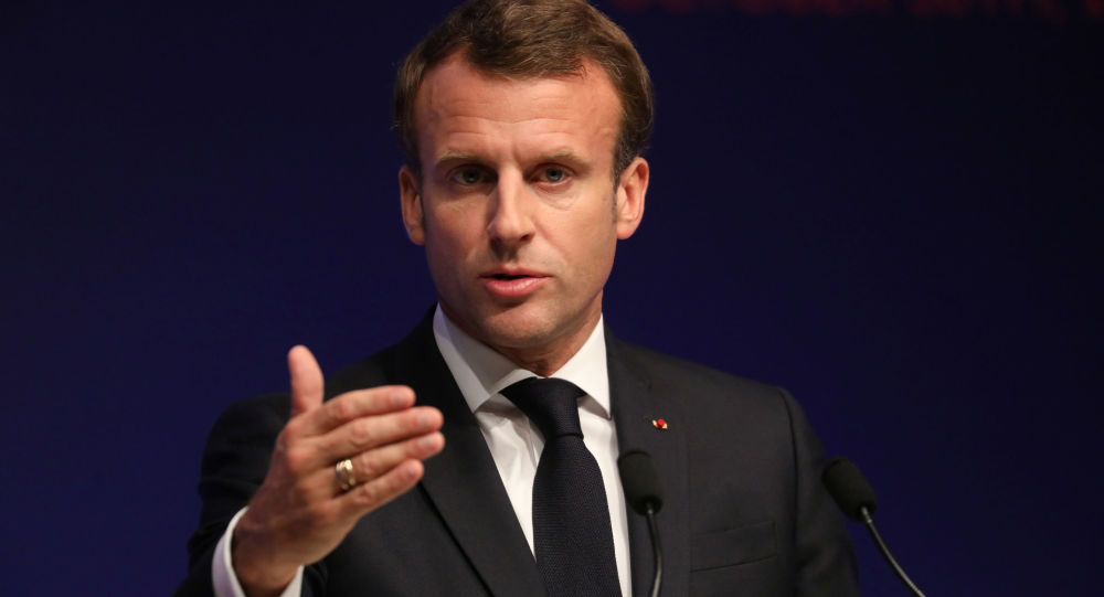 法國總統馬克龍