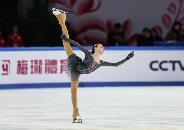 俄羅斯花樣滑冰運動員安娜·謝爾巴科娃