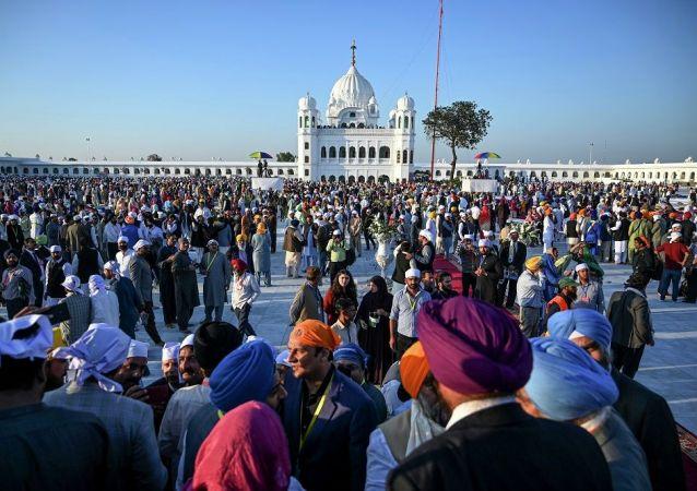 印度錫克教朝聖者