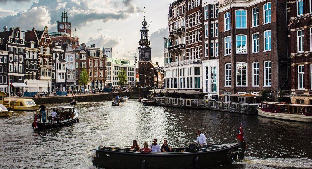阿姆斯特丹運河美景