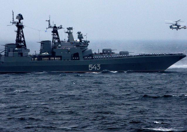 「沙波什尼科夫元帥」號護衛艦