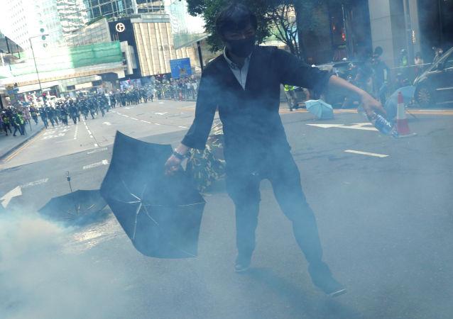 香港70歲老人被磚砸中身亡 警方改列謀殺案處理
