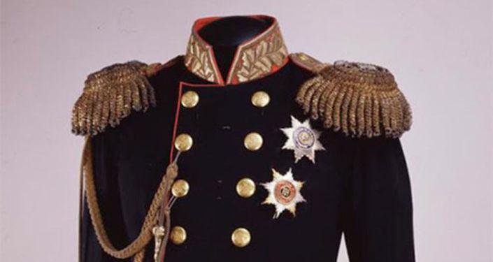 亞歷山大二世的加冕制服(1856年)