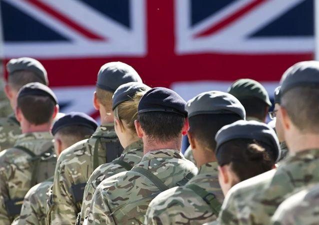 英國軍人在阿富汗