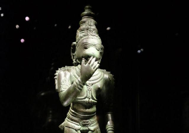 印度六歲男孩被奉為猴神
