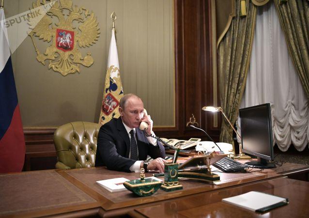 克宮:普京與澤連斯基進行電話交談