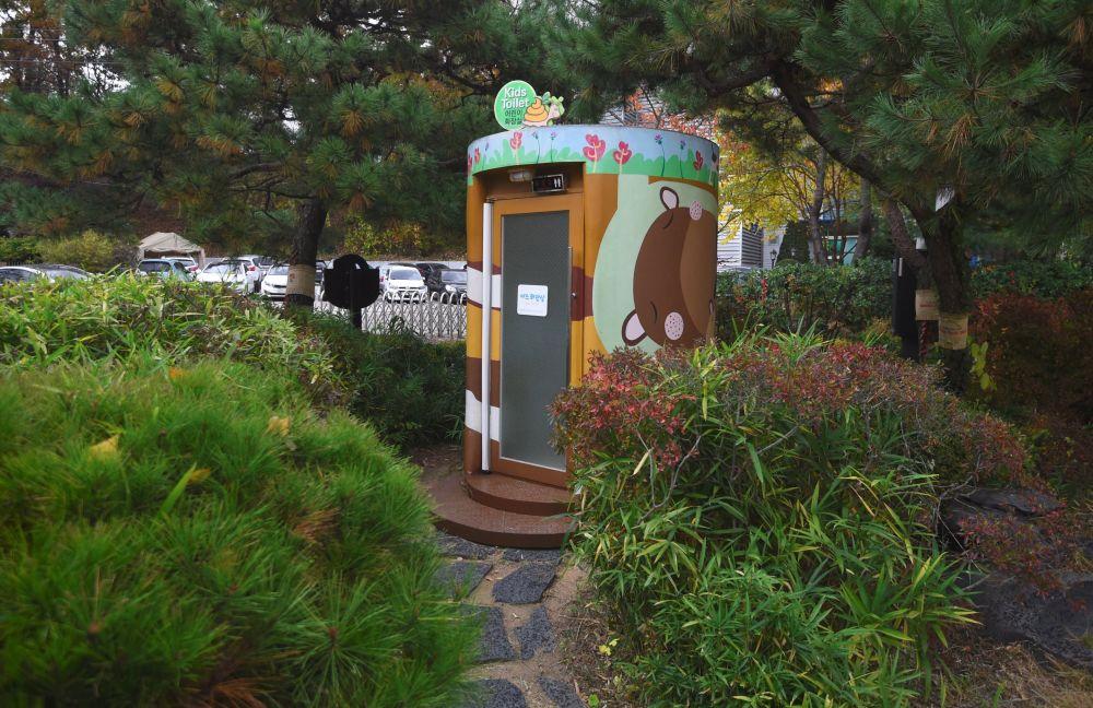 韓國水原市中的「廁所百態」主題公園