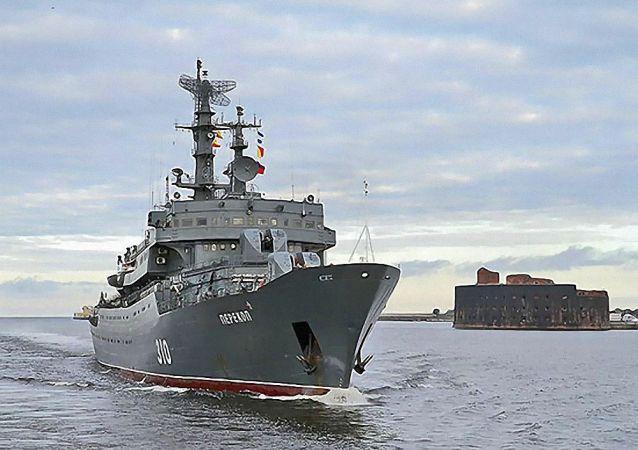 俄波羅的海艦隊訓練船「Perekop」抵達斯里蘭卡