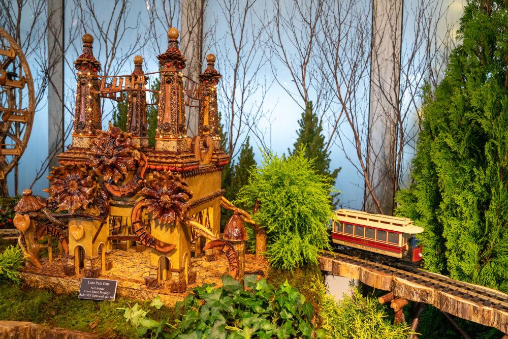 紐約一年一度的假日小火車展
