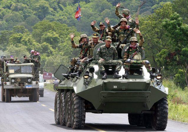 柬埔寨軍方