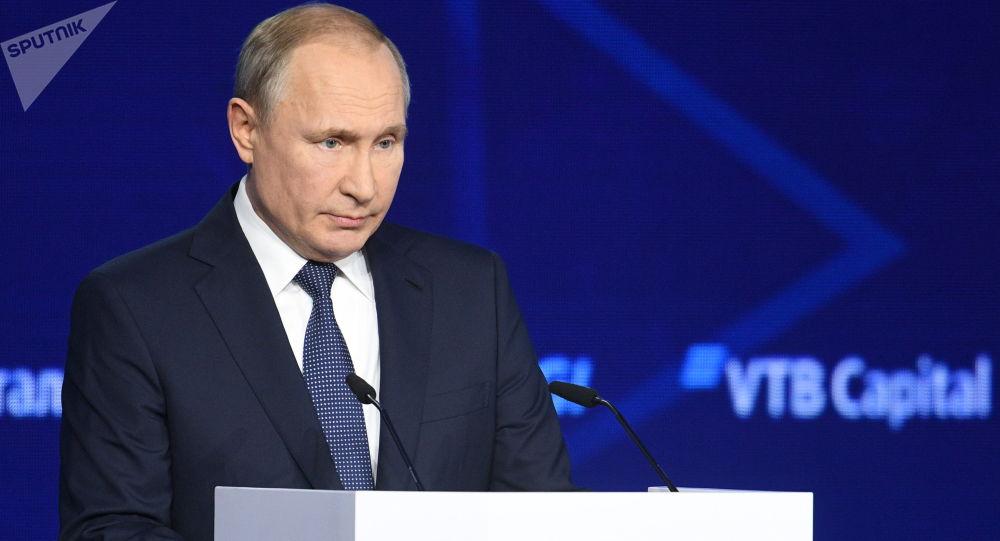 普京:遏制俄中是美國的嚴重戰略錯誤