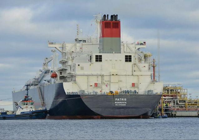 美國的液化氣運輸船