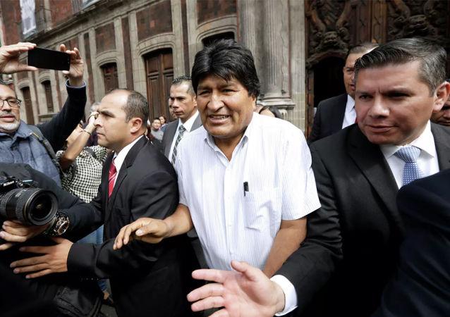 玻利維亞前總統埃沃·莫拉萊斯