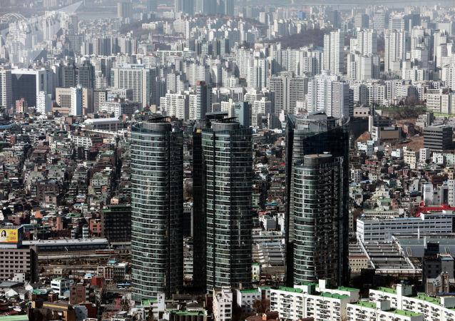 韓國和緬甸外交官在首爾會面