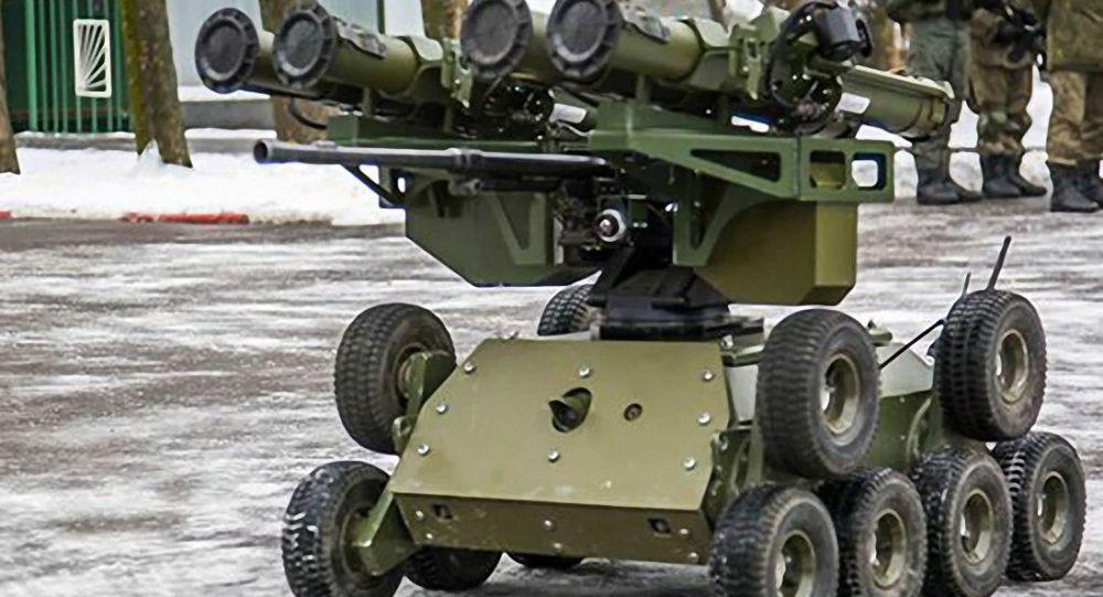 俄軍的「昆加斯」(Kungas)機器人