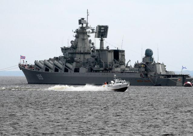 導彈巡洋艦 「烏斯季諾夫元帥」號