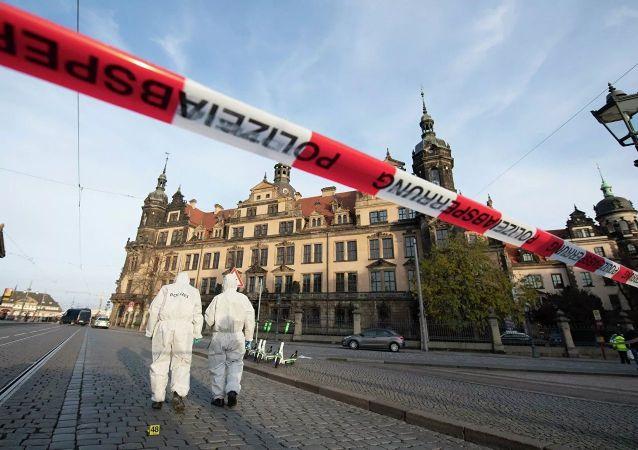 德累斯頓證實博物館文物被盜 其中有薩克森白鑽