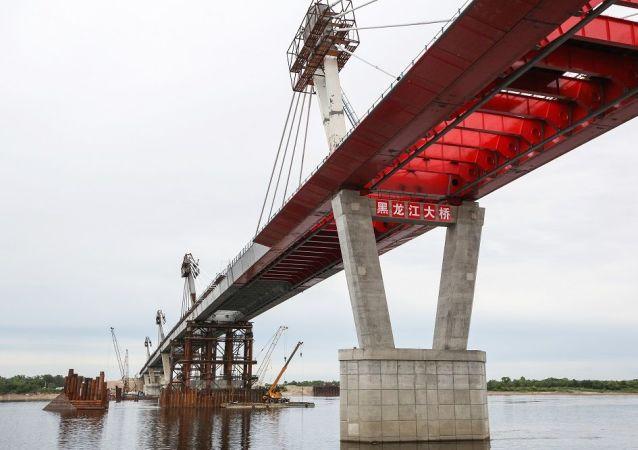 俄中界河大橋