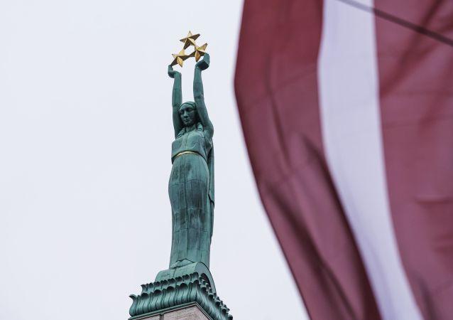 拉脫維亞里加自由紀念碑