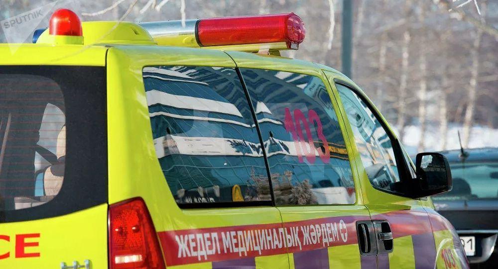 哈薩克斯坦救護車