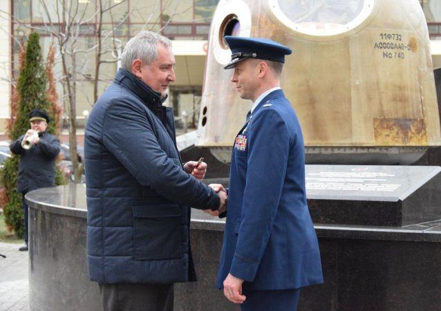 美國宇航員黑格:將自豪地佩戴俄羅斯勇氣勳章