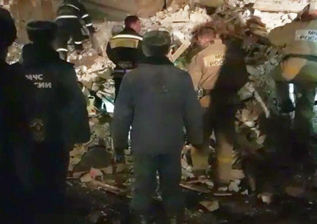 俄別爾哥羅德州一住房發生燃氣爆炸致一人死亡六人受傷