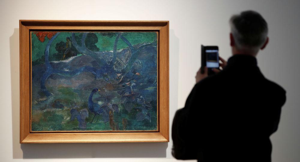 高更油畫在巴黎拍出950萬歐元高價