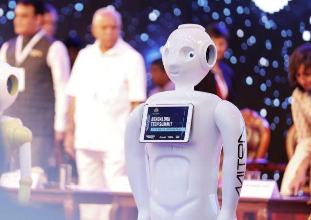 印度的機器人將會說中文